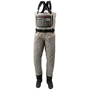 Simms g4 pro stockingfoots wader men 39 s for Fishing waders amazon