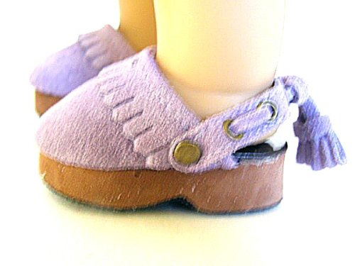 Buy American Girl Doll Clothes Purple Suede Clogs