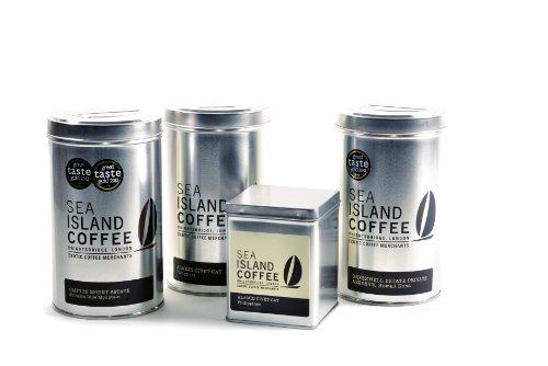 Sea Island Coffee Collection - Jamaica Blue Mountain, Hawaii Kona, Kopi Luwak Coffee Gift Sets - Cafetiere/Filter Grind