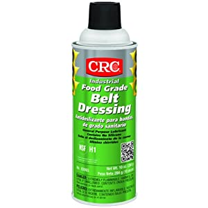 crc food grade belt dressing synthetic lubricant 10 oz