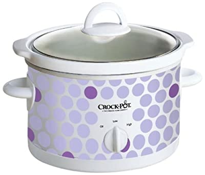 Crock Pot 2-1/2-Quart Slow Cooker from Jarden Consumer Solutions