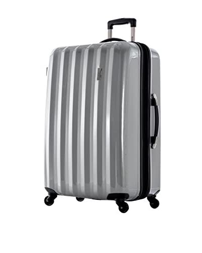 Olympia Titan 29 Inch Expandable Large-Size Hard Case Spinner, Silver