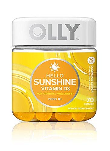 Lemon Vitamin D3 Gummies