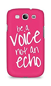 AMEZ be a voice not an echo Back Cover For Samsung Galaxy S3 Neo