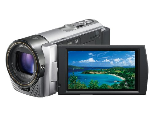 【Amazonの商品情報へ】SONY デジタルHDビデオカメラレコーダー CX180 シルバー HDR-CX180/S