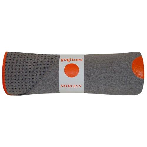 Yogitoes YTMP172-STONE-P-25 Skidless Premium Mat Size Yoga Towel (Stone)