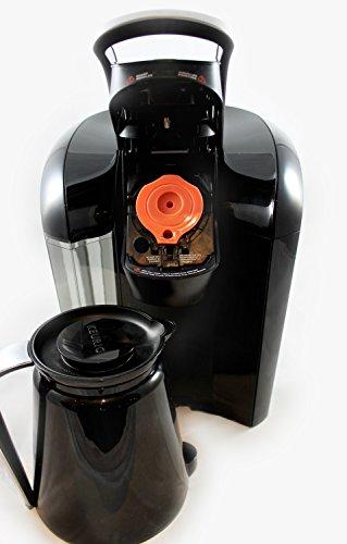 PureJava Reusable Carafe K Cup ~ Carafe Keurig Coffee Filter ~ Refillable, Reusable K Carafe ...