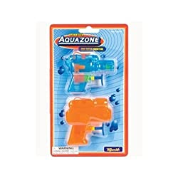 Toy Smith Aquazone Mini Water Squirters 2 Pack Novelty