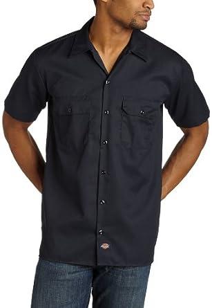 Low Price Dickies Men's Short Sleeve Work Shirt