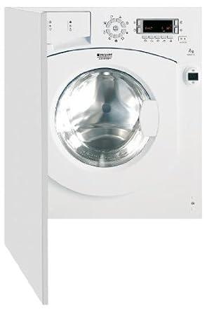 Hotpoint-Ariston BWMD 742 (EU) machine à laver - machines à laver (Intégré, Charge avant, A++, B, Blanc, LCD)