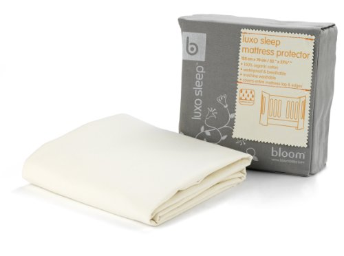 Bloom Luxo Sleep Mattress Protector - Natural Wheat front-678852