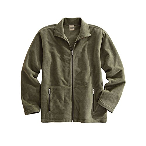 Blair Men's Field Guide Microfleece Zip-Front Jacket