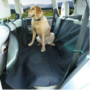 TAC HDCBSSBLK Town and Country Heavy Duty Water Resistant Back Seat Sling/Dog Hammock
