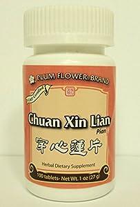 Chuan Xin Lian Pian, 100 ct, Plum Flower