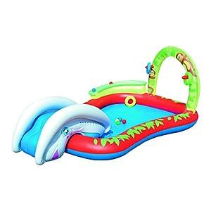 Bestway 53051 piscina hinchable para ni os con tobog n for Amazon piscinas infantiles