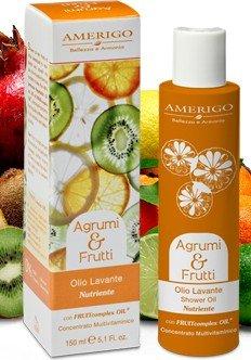 AMERIGO Agrumi&Frutti - Olio lavante corpo nutriente 150 ml