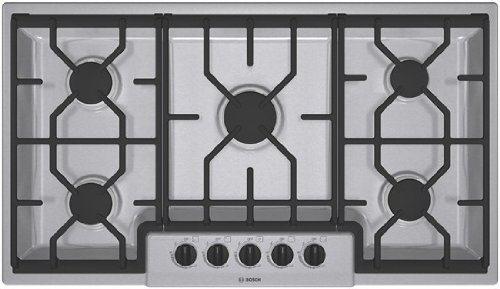 Bosch NGM3654UC 36 300 Series Gas Cooktop - Stainless Steel