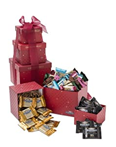 Ghirardelli Sentimental Chocolates Tower, 3 Stack, 1.75 Pound