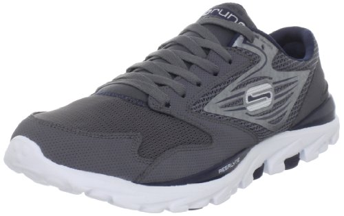 Skechers Men's Go Run Sports Shoes - Fitness 53500 Grey (CCNV) EU39.5/UK6/US7