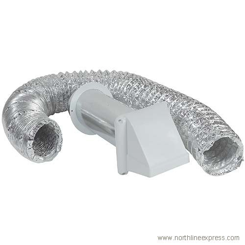 4'' X 8' Preferred Aluminized Dryer Vent Kit