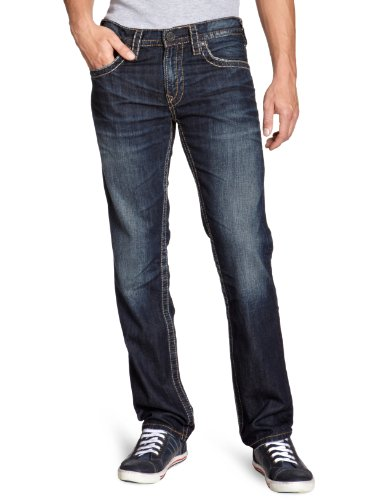 Silver Jeans Men's M2229-Ljb482 Slim And Skinny Jeans Blue (Ljb482) 38/34
