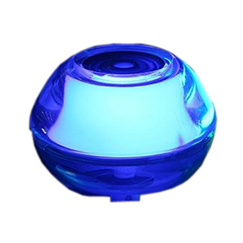 Portable Tabletop Ultrasonic Vaporizer with LED Color Changing Light (color blue)