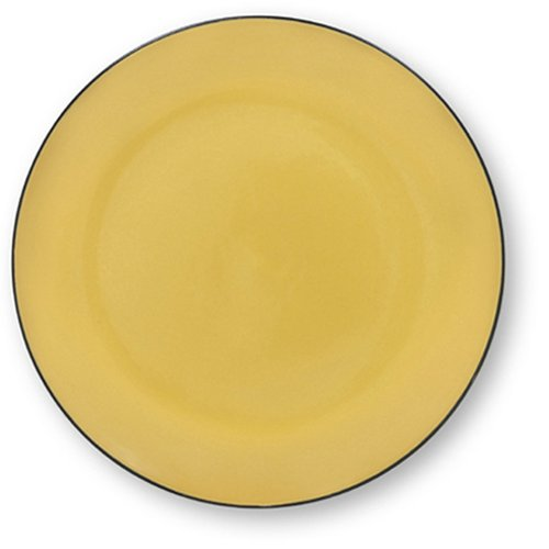 Buy Corelle Hearthstone 10-1/2-Inch Dinner Plate, Turmeric Yellow
