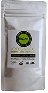 Matcha Green Tea Powder. Powerful Antioxidant- Japanese Green Tea. USDA Organic- Premium Culinary Grade. Vegan Certified (30g). Best for Baking, Smoothies, Lattes, Ice Teas & More. Perfect Dietary Supplement!