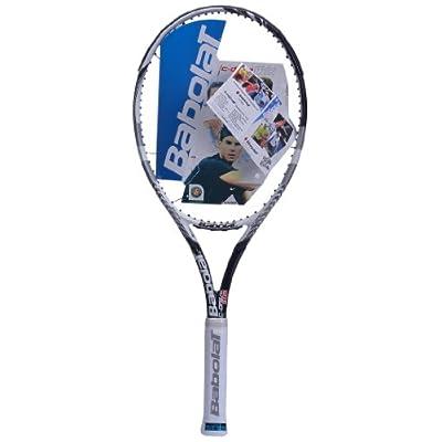 Babolat 101156-105 C Drive 102 Unstrung Tennis Racquet, 4 3/8 (Black)