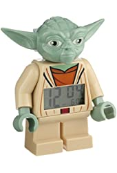 LEGO Kids' 9003080 Star Wars Yoda Figurine Alarm Clock