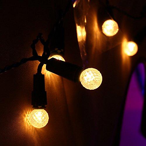 ledertek decorative battery operated globe string lights. Black Bedroom Furniture Sets. Home Design Ideas