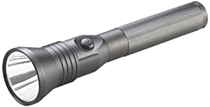Streamlight 75763 Stinger LED HP Flashlight with 120V AC 12V DC Chargers, Black by Streamlight