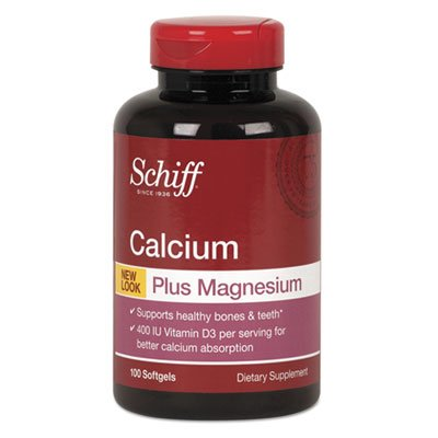Calcium, Magnesium With Vitamin D3 Softgel, 100 Count 11340