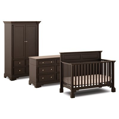 Status Furniture 400 Series Stages 3-in-1 Convertible Baby Crib Collection - SCM030