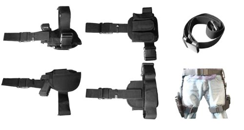 Buy VISM by NcStar 3-Piece Drop Leg Gun Holster and Magazine Holder (CV2908)