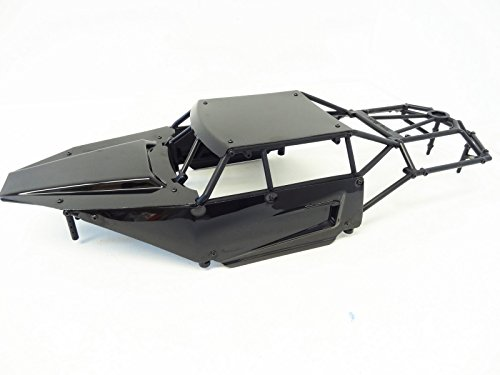 King Motor Class 1 HD Plastic Roll Cage & Panel Kit (black) Fits HPI Baja 5B SS 2.0 Buggy 5T Rovan Truck (Hpi Baja 5b Parts compare prices)