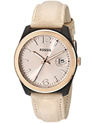 Fossil Perfect Boyfriend Analog Gold Dial Women's Watch - ES3777