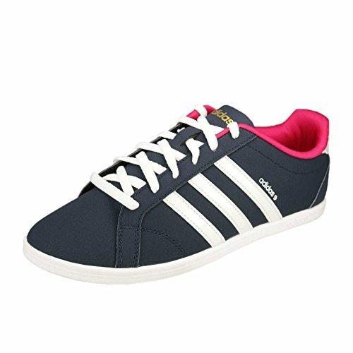 adidas-Neo-CONEO-QT-VS-Zapatillas-Sneakers-Negro-Purpura-para-Mujer