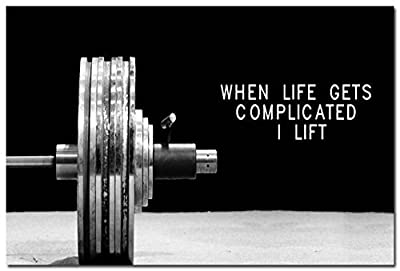 Tomorrow sunny Bodybuilding Inspirational Quotes Silk Poster Gym Room Decoration 24x36 inch