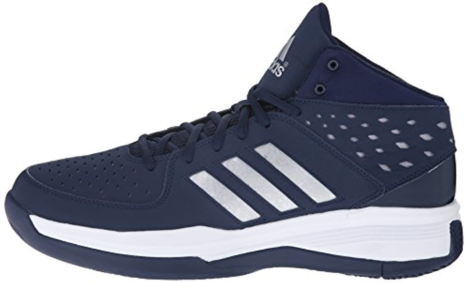 adidas basketball shoes navy blue