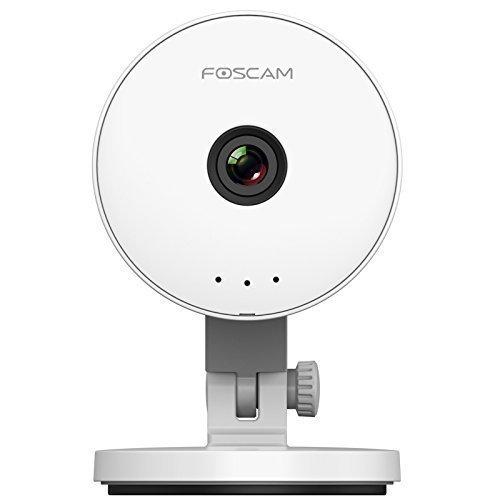 Foscam C1 Lite Intérieure HD 720P PnP Caméra Sans fil, Grand Angle 115°, Le détection de mouvement, zoom numérique et audio bidirectionnelle