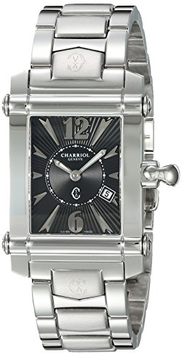 Charriol-Womens-Columbus-Swiss-Quartz-Stainless-Steel-Dress-Watch-ColorSilver-Toned-Model-CCSTRH9202205