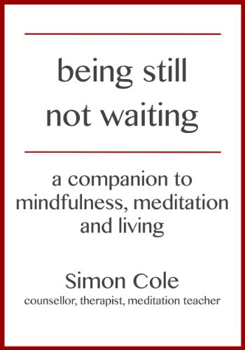 Image of Being Still Not Waiting - a companion to mindfulness, meditation and living