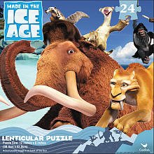 Ice Age 4 Continental Drift 24 Piece Lenticular Puzzle - 1