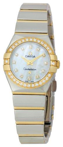 Omega Women's 123.25.24.60.55.007 Constellation '09 Diamond Bezel Watch