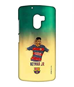 ILLUSTRATED NEYMAR Phone Cover for Lenovo K4 note by Block Print Company