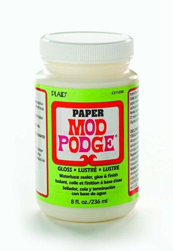 Mod Podge CS11238 8-Ounce Paper, Gloss Finish