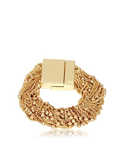 Saachi Gold-Tone Beaded Chain Bracelet