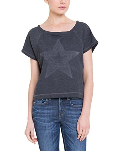 BIG STAR Camiseta Manga Corta Dalila_Sweat Negro