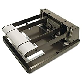 Heavy Duty Two- or Three-Hole Punch, Antimicrobial, 160-Sheet Capacity by STANLEY BOSTITCH (Catalog Category: Paper, Pens & Desk Supplies / Punches / Multi-Hole Adjustable)